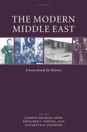 The Modern Middle East A Sourcebook for History Book