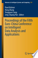 Proceedings of the Fifth Euro China Conference on Intelligent Data Analysis and Applications