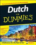 Dutch For Dummies Pdf/ePub eBook