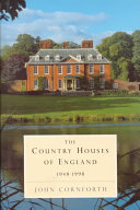 The Country Houses of England  1948 1998