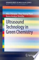 Ultrasound Technology in Green Chemistry
