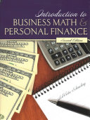 Introduction to Business Math   Personal Finance