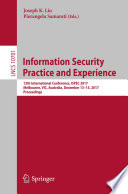 Information Security Practice and Experience