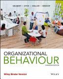 Organizational Behaviour 1ce Binder Ready Version   WileyPLUS Learning Space Registration Card