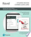 Revel for Writing Today Access Card