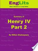 Englits Henry Iv Part Ii Pdf  Book