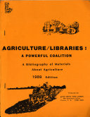 Agriculture Libraries