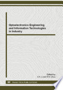 Optoelectronics Engineering And Information Technologies In Industry Book PDF