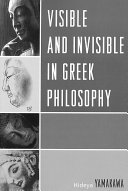 Visible and Invisible in Greek Philosophy
