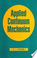 Applied Continuum Mechanics Book PDF