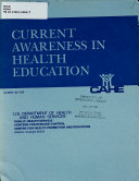 Current Awareness In Health Education Book PDF