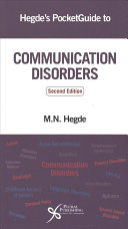 Hegde's Pocketguide to Communication Disorders