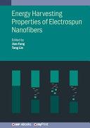 Energy Harvesting Properties of Electrospun Nanofibers