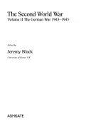 The Second World War  The German war 1943 1945 Book