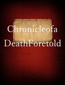 Chronicle of a Death Foretold Book