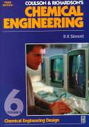 Coulson   Richardson s Chemical Engineering  Chemical engineering design