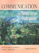 Communication for Business and the Professions Book