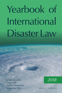 Yearbook of International Disaster Law