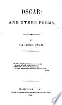 Oscar  and Other Poems