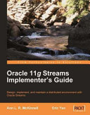 Oracle 11g Streams Implementer's Guide