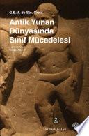 Antik Yunan Dünyasında Sınıf Mücadelesi