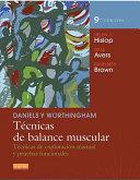 Pdf Daniels y Worthingham. Técnicas de balance muscular Telecharger