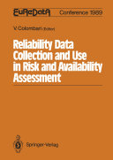 Reliability Data Collection and Use in Risk and Availability Assessment