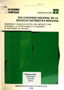 Congreso Nacional de la Sociedad Matem  tica Mexicana