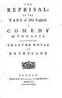 The reprisal: or, The tars of old England