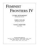 Feminist Frontiers IV