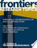 Towards A Neuroscience Of Social Interaction Book PDF