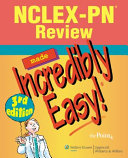 NCLEX PN Review Made Incredibly Easy   Book