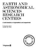 Earth and Astronomical Sciences Research Centres