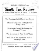 The Single Tax Review