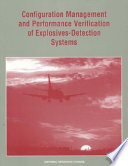 Configuration Management and Performance Verification of Explosives-Detection Systems