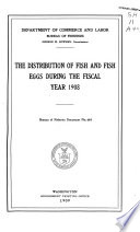 Report of the Commissioner of Fisheries for the Fiscal Year     and Special Papers Book
