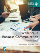 Excellence In Business Communication Ebook Global Edition