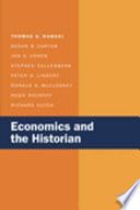 Economics and the Historian Book