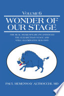 Read Online Wonder of Our Stage For Free