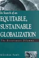 In Search of an Equitable  Sustainable Globalization