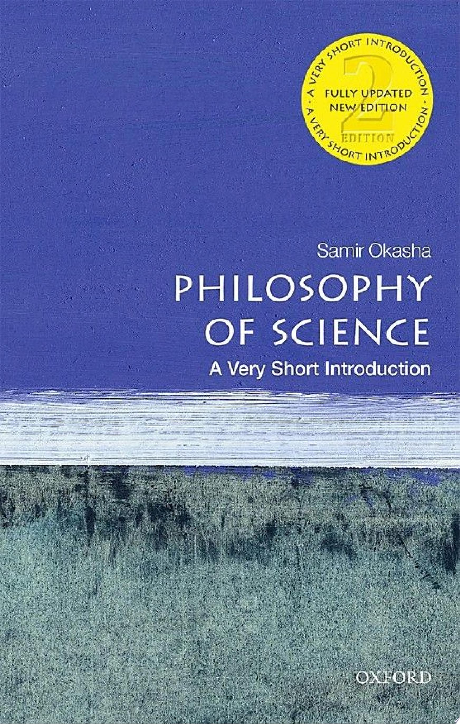 Philosophy of Science  Very Short Introduction