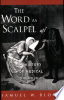 The Word As Scalpel Book
