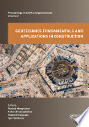 Geotechnics Fundamentals and Applications in Construction Book