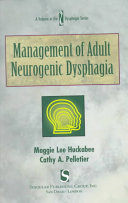 Management of Adult Neurogenic Dysphagia Book