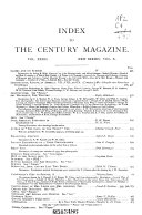 The Century Illustrated Monthly Magazine