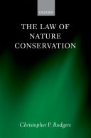 The Law of Nature Conservation
