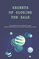 Secrets Of Closing The Sale Book