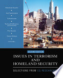 Issues in Terrorism and Homeland Security