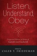 Listen  Understand  Obey