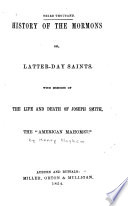 ...History of the Mormons